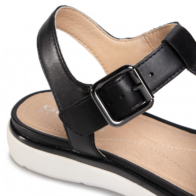 Sandales GEOX - D S.Hiver B D02GZB 00043 C9999 Black - Sandales décontractées - Sandales - Mules et sandales - Femme ZmM8CpoA