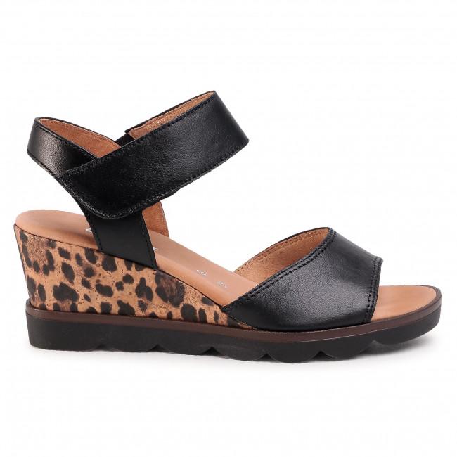 Sandales GABOR - 42.844.57 Schwarz - Compensées - Mules et sandales - Femme fD3CATYJ