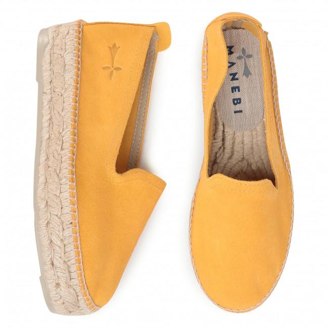 Espadrilles MANEBI - Slippers D M 2.4 D0 Banana - Espadrilles - Chaussures basses - Femme TiiYZLIX
