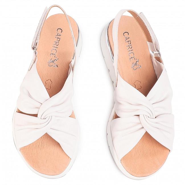 Sandales CAPRICE - 9-28710-34 White Softnap. 160 - Compensées - Mules et sandales - Femme DSPsUgQO