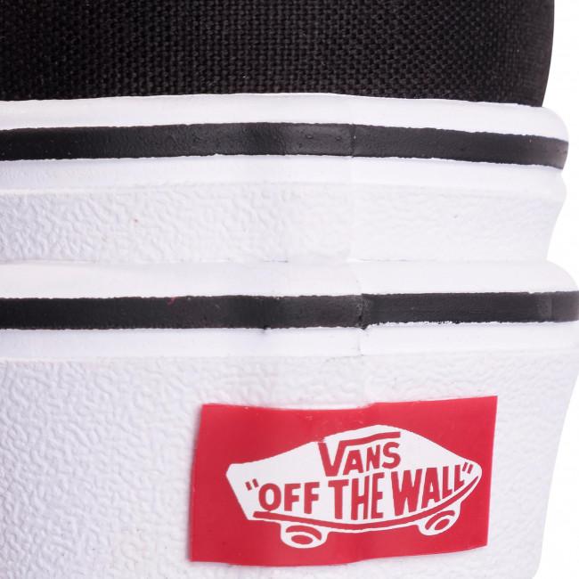 Tennis VANS - Super Comfycush E VN0A4U1D1WX1 (Canvas) Black/True White - Baskets - Chaussures basses - Femme LtSZVTL0