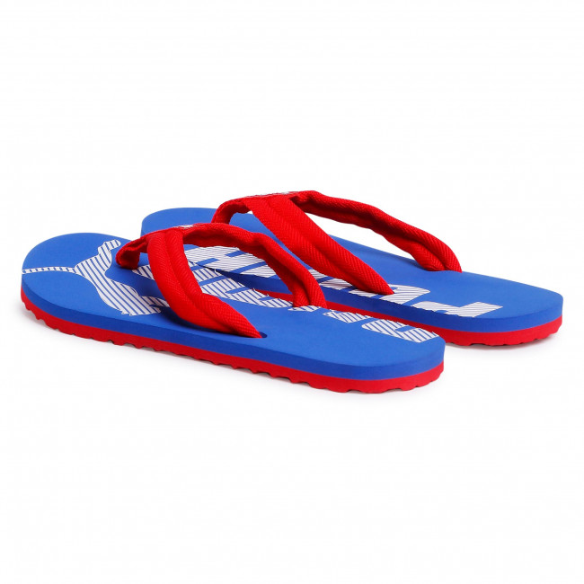 Tongs PUMA - Epic Flip V2 360248 35 High Risk Red/Dazzling Blue - Tongs - Mules et sandales - Femme iSox7Qjl