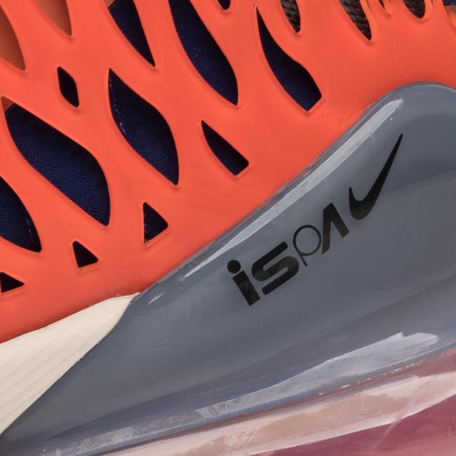 Chaussures NIKE - Air Max 270 Ispa BQ1918 400 Blue Void/Black/Terra Orange - Sneakers - Chaussures basses - Homme TmufqxCG