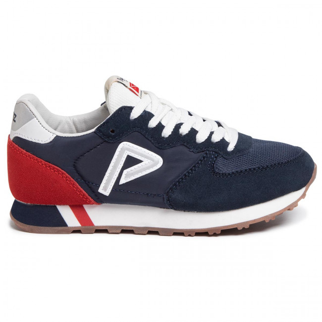 Sneakers PEPE JEANS - Klein Archive Summer B PBS30424 Marine 585 - Sneakers - Chaussures basses - Femme W3dUFb32