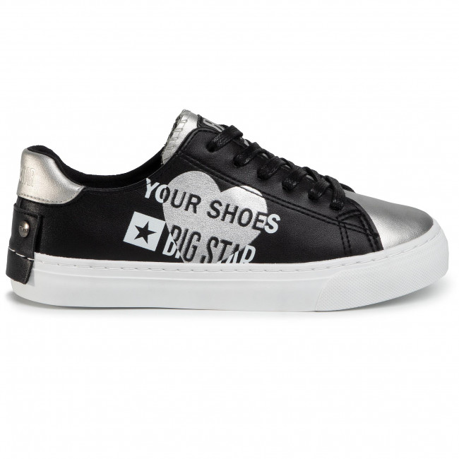 Sneakers BIG STAR - EE274240 Black/Silver - Sneakers - Chaussures basses - Femme eyaiwzQo
