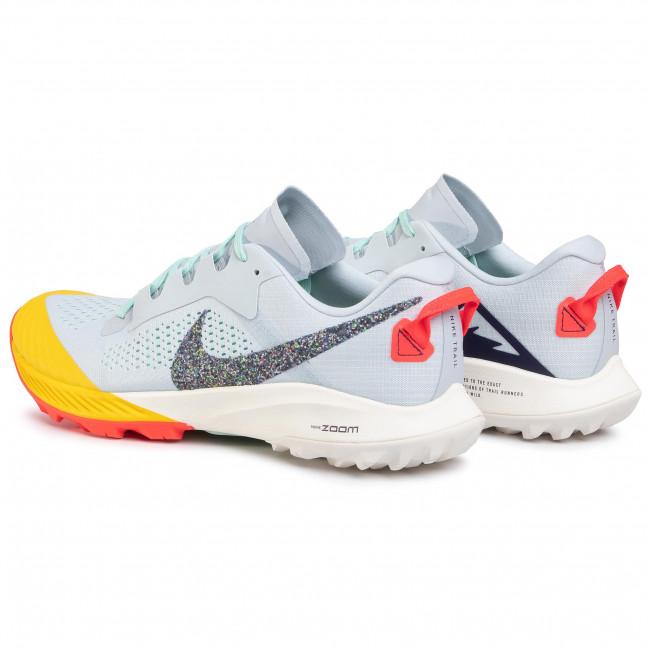 Chaussures NIKE - Air Zoom Terra Kiger 6 CJ0219 400 Aura/Blackened Blue/Mint Foam - Randonnée - Running - Chaussures de sport - Homme GMtfvkkb
