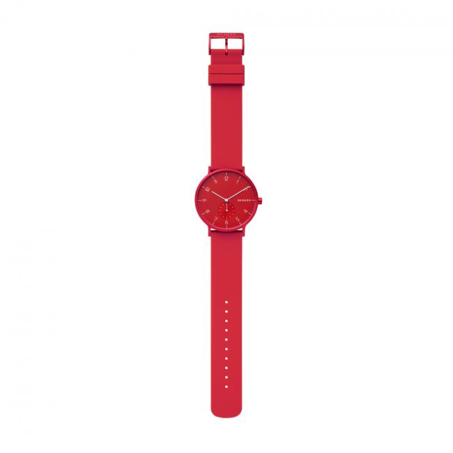 Montre SKAGEN - Aaren Kulor SKW6512 Red/Red - Femme - Montres - Accessoires ZxhWeSzG