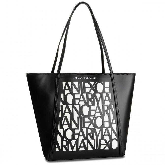 wholesale dealer half price size 40 Sac à main ARMANI EXCHANGE - 942580 9A070 42520 Black/White