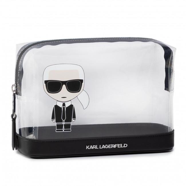 Trousses de toilette - set KARL LAGERFELD - 201W3204 Transparen - Cuir - Trousses de toilette et vanity cases - Accessoires oBKAhrsr