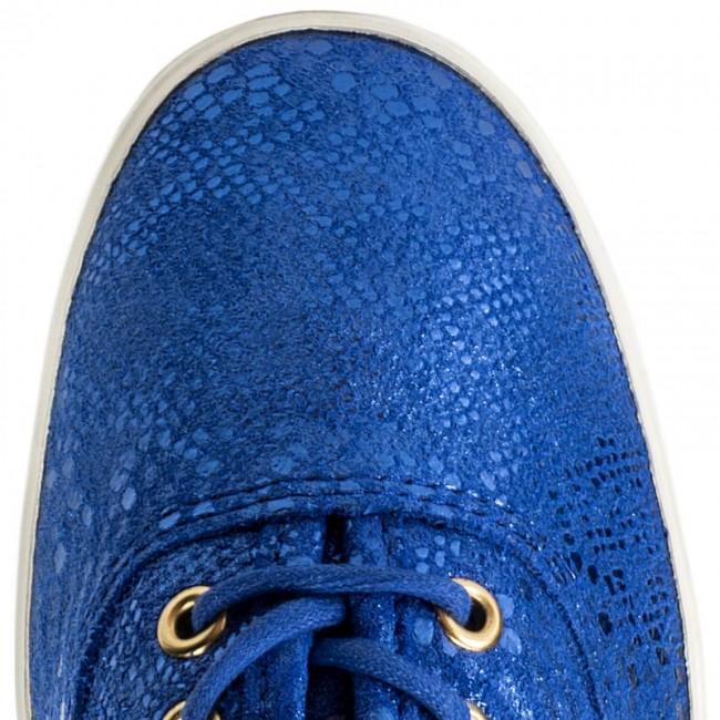 Tennis KEDS - Champion Exotic Shim WH54610 Blue - Baskets - Chaussures basses - Femme BTHColoy