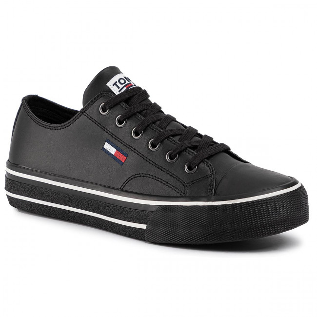 Tommy/_Jeans Retro Flag Sneaker Scarpe da Ginnastica Basse Uomo